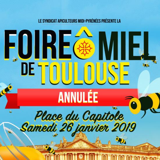 Rendez-vous samedi 9 novembre pour la plus grande Foire Ô Miel de France – Toulouse, Place du Capitole
