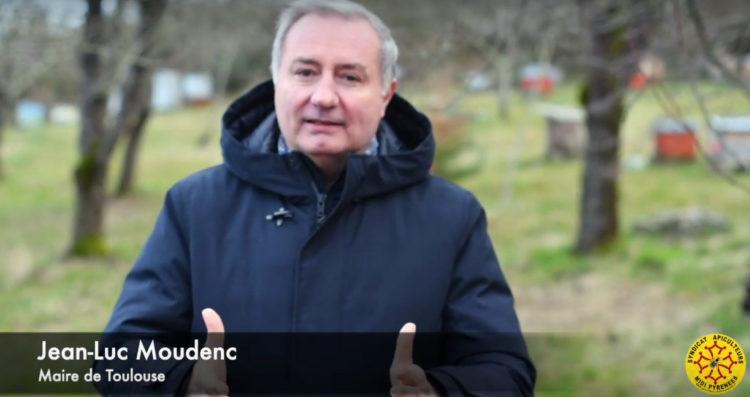 Jean Luc Moudenc soutient les Apiculteurs Midi-Pyrénées